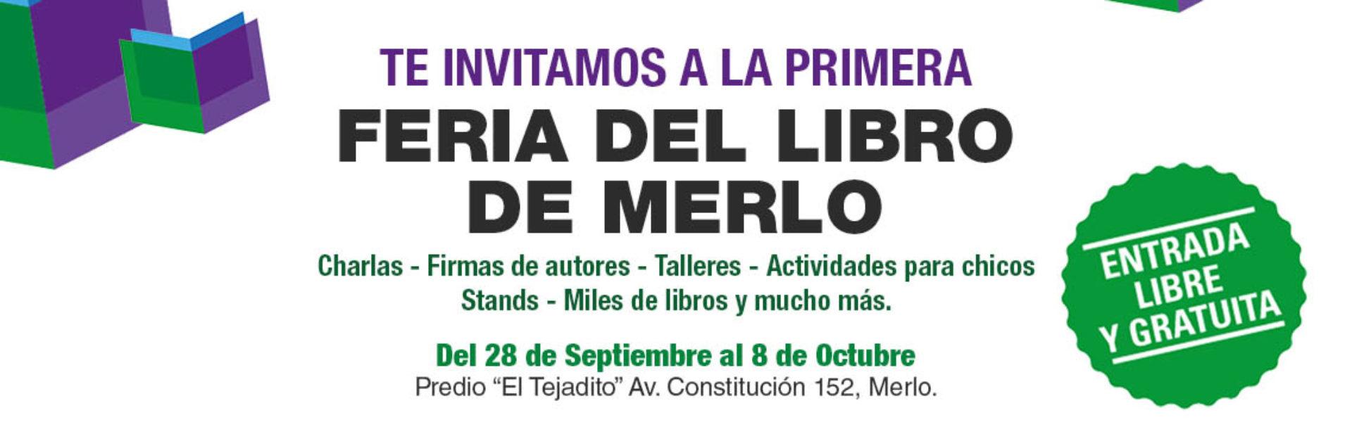 La Fundación participará de la primera Feria del Libro de Merlo (BA) thumbnail